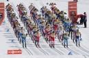 Les hommes prennent le départ du 15 km classique.... | 18 mars 2017