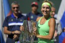 Elena Vesnina remporte l'Omnium BNP Paribas