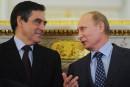 Fillon aurait mis un de ses clients en relation avec Poutine