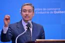 La voix de Labeaume porte à Ottawa, croit le ministre Champagne