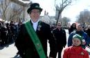 Le Grand Marshall du défilé de la Saint-Patrick,Stephen Burke... | 25 mars 2017