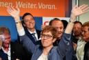 Merkel revigorée par une victoire lors d'un scrutin test