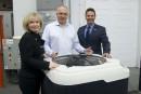 Nirvana Chauffe piscine reçoit 450 000 $ du fonds de diversification
