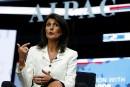 Dénigrer Israël, «c'est terminé», annonce Nikki Haley