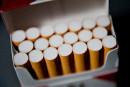 Intercepté avec des dizaines de milliers de cigarettes