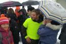 Sébastien Jacques amorce sa marche de 5000 km