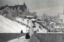 La terrasse Dufferin en 1905