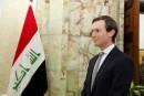Le gendre de Trump en Irak pour parler de l'EI