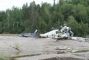 Écrasement d'hélico à Sept-Îles: une perte de maîtrise, dit le BST