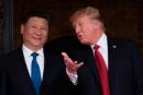 Discussion sur le nucléaire entre Trump etXi Jinping