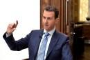 La télévision d'État syrienne qualifie les frappes d'«agression»