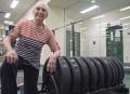 Au gym à 90 ans
