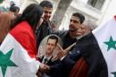 «Battre les terroristes»: l'objectif desalliés d'Assad et des É.-U.