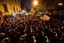 Hongrie : importante manif de soutien à l'université Soros
