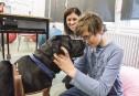 Une chienne change la vie d'un garçon autiste