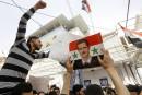 Syrie:manifestation à Damas contre les frappes américaines