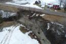 Des glissements de terrain aux quatre coins de la région