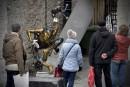 Un célèbre bronze quittera le Vieux-Québec
