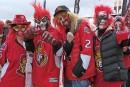 Le rouge était à l'honneur devant le Centre Canadian Tire.... | 12 avril 2017