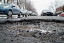 Les Montréalais de plus en plus insatisfaits de l'état des rues