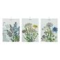 Linges à vaisselle aux motifs de fleurs de Bloomingville. Linges... | 14 avril 2017