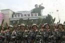 Des militaires massés à Pyongyang pour une démonstration de force
