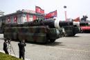 De nouveaux missiles aperçus en Corée du Nord