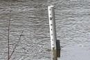 Le niveau de la rivière du Nord à Prévost continuait...   17 avril 2017