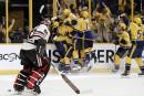 Les Predators poussent les Blackhawks au bord du gouffre
