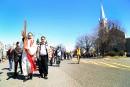 Une centaine de fidèles ont participé à la Marche du... | 18 avril 2017