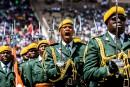 Le «défilé de l'honneur» lors des célébrations de la 37e... | 18 avril 2017