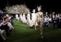 Des mannequins portant des créations de Christian Dior défilent à... | 19 avril 2017