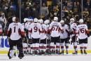 Ottawa creuse l'écartdans la série contre Boston