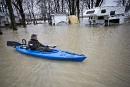 Inondations: les zones sinistrées se multiplient dans le sud du Québec