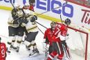 Les Bruins sont fait refuser un but...   22 avril 2017