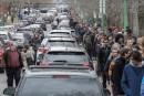 Présidentielle française: interminable attente samedi au bureau de scrutin montréalais
