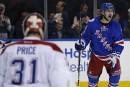 Le Canadien éliminé en six matchs par les Rangers