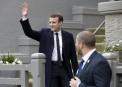 Le candidat du parti En marche! Emmanuel Macron pourrait devenir...   23 avril 2017
