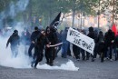 Présidentielle: heurts entre «antifascistes» et policiers