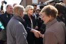 Le Pen fustige «un vieux front républicain pourri» autour de Macron