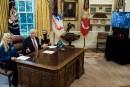 Trump a parlé en direct avec des astronautes américains
