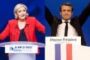 Le premier tour divise les Français estriens