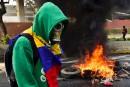 Les anti-Maduro bloquent les routes du Venezuela