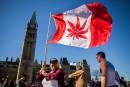 Justin Trudeau parle de marijuana avec le public