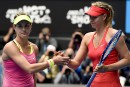 Eugenie Bouchard envoie une flèche à Maria Sharapova