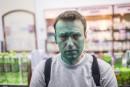 Un opposant à Poutine aspergé de colorant, soigné pour une brûlure