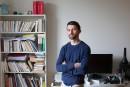 Sur la table de travail d'Étienne Lepage