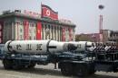 En tirant un missile, Pyongyang a «manqué de respect» à la Chine
