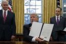 ALENA: le brouillon du décret sur le retrait des États-Unis a été divulgué