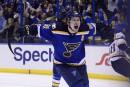 Vladimir Tarasenko ramène les Blues à égalité contre les Predators